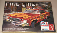 AMT 1970 Chevy Impala Fire Chief 1:25 scale model kit new 1162