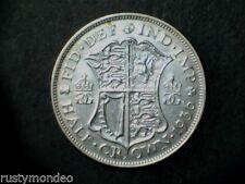 (2) 1936 George V .500 silver Half Crown, Ex Fine.