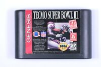 Tecmo Super Bowl III 3 Final Edition (Sega Genesis, 1995) - Cartridge Only