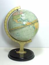 1930s Thorne's Toffee Tin world globe candy container made in England