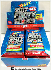 2017 Select AFL Footy Stars Trading Cards Sealed Loose Packs Unit of 4--packs