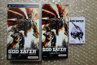 God Eater Sony PSP Region Free Japan Video Game