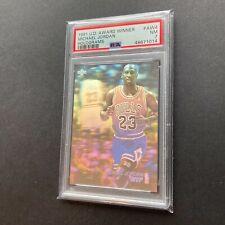 Michael Jordan 1991 Upper Deck Award Winner Hologram MVP #AW4 Card PSA 7 🔥