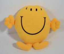 "RARE 2000 Mr Happy 4"" McDonald's EUROPE Plush Stuffed Action Figure"