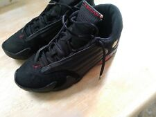 "2005 Nike Air Jordan 14 XIV Retro ""Last Shot"" Mens Size 11.5 Black / Red"