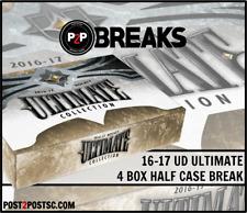 2016-17 UD ULTIMATE HOCKEY 4 BOX 1/2 CASE BREAK #3 - Montreal Canadiens
