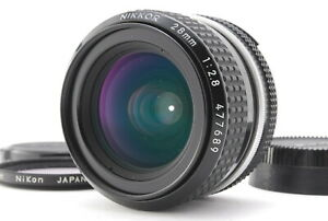 MINT/ NIKON Ai 28mm F2.8 NIKKOR MF Lens from Japan #1413