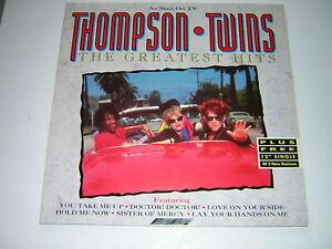 ORIGINAL THOMPSON TWINS DOUBLE VINYL ALBUM - THE GREATEST HITS