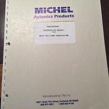 Michel MX-12 Nav Com Install & Service Manual