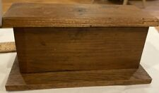 Antique Wooden Store Counter for Doll Houses or Roomboxes
