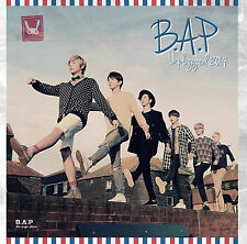 B.A.P (BAP) 4th Single Album [Unplugged 2014] CD + Photobook + Photocard Sealed