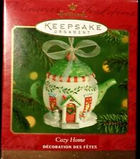 "HALLMARK KEEPSAKE ""Cozy Home"" ORNAMENT 2001"
