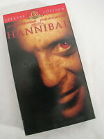 Hannibal Special Edition Anthony Hopkins Julianne Moore Ridley Scott VHS Tape