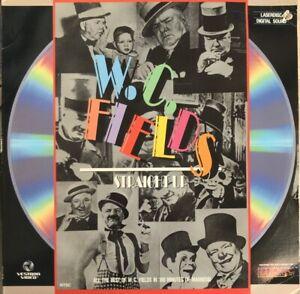 W. C. Fields : Straight Up. Laser Disc. Like New