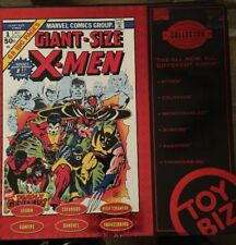 Marvel Collector Editions of Giant Size X-Men: Red Box Set Of 6 Figures! Rare.