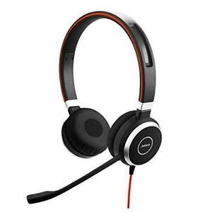 Jabra Evolve 40 Stereo Black Headband Headsets (14401-10-A1)