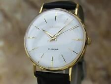 Enicar Swiss Made Rare Vinatge 1960s Manual Men's Gold Plated Dress Watch EE37