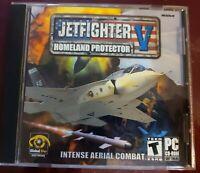JetFighter V: Homeland Protector (PC, 2003) pc cd flight sim video game