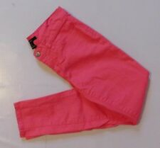 FOREVER 21 Womens Juniors Hot Pink Stretch Skinny Jeans Size 26  5/6