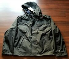 Timberland Mens HyVent Mount Clay Bomber Waterproof Jacket, Black, XL, New, NWT