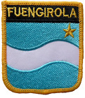 Fuengirola Spain Shield Embroidered Patch