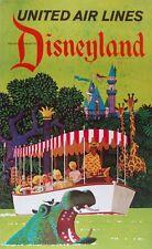Tamaño A3-Disneyland 1-Vintage Retro Travel & ferrocarriles cartel impresión #3