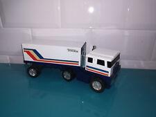 28.05.18.1 Camion truck Tonka Blanc transport métal et plastique 20cm