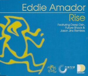 EDDIE AMADOR: RISE - 5 TRACK CD SINGLE, DEEP DISH, FUTURESHOCK