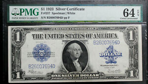 Fr 237 $1 1923 Silver Certificate PMG 64 EPQ UNCIRCULATED  THIS NOTE IS NICE!!