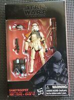 "Star Wars The Black Series Sandtrooper Figure 3.75"" Hasbro New Sealed"
