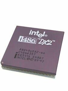 INTEL A80486DX2-66 SX807 COLLECTIBLE 486 PROCESSOR                      fba10a80