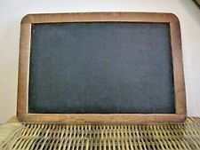 "Vintage Hand Held Double Sided Chalkboard 12.50"" x 8.25"""