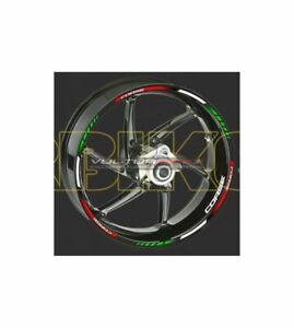 Felgenrandaufkleber Aufkleber Corse für Ducati