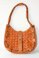 ETHNIC BOHO HANDMADE WOVEN MESH GENUINE LEATHER SHOULDER WOMEN HANDBAG