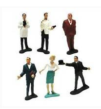 Vintage 1960's James Bond 007 Movie Figuras Por Gilbert Juguetes Usa Raro