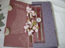 Swatch in Bloom (original Pink) with special package
