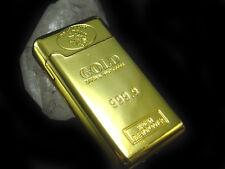 Goldbarren Feuerzeug Gasfeuerzeug goldfarben, #2