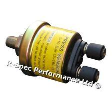 Medidor De Motor Motormeter genuina 1/8 NPT Manómetro De Aceite Sensor/Unidad del remitente