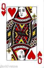 Needlepoint Canvas Queen of Hearts Playing Card 9 x 12 inch 16 count mono deluxe