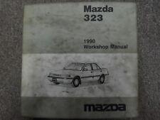 1990 Mazda 323 Service Repair Shop Manual FACTORY OEM HOW TO FIX RARE 90 BOOK