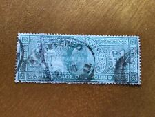 Great Britain £1 Dull Blue-Green f/used  Stamp Ref 56512
