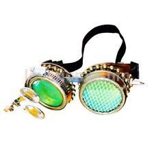 Steampunk Victorian Goggles Welding Glasses Punk Gothic Costume Accessories