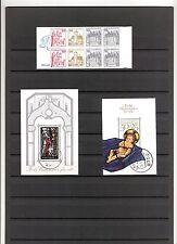 N°13 ALLEMAGNE FEDERALE 1 carnet neuf et 2 blocs feuillets oblitérés