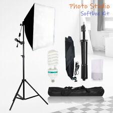 Photography Softbox Lighting Stand Photo Equipment Soft Box Studio Light Kit