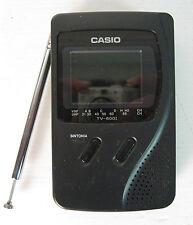casio tv-600 tv portatile vintage, funzionante.