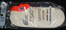 VINTAGE NEW original package IZOD LACOSTE Mini sox Socks RED trim Blue alligator