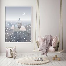 Have Courage & Be Kind - Nursery Print - Wall Art - Baby Room - Kids Bedroom