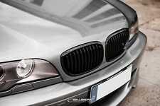schwarz glänzend Nieren 3er BMW E46 Coupe Facelift Frontgrill M3 salberk 4604