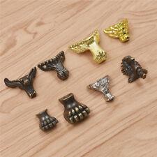 Zinc Alloy Corner Feet Leg Protector for Wood Case Gift Box Retro Owl Horse 4pcs