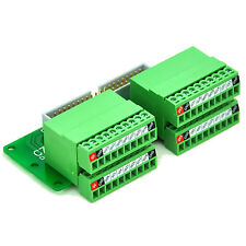 Panel Mount Pluggable Terminal Block Breakout Module - for Raspberry Pi.  D1143